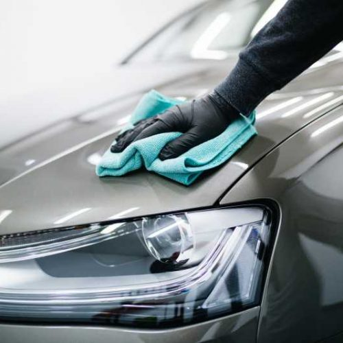 Detailing a car perfectly